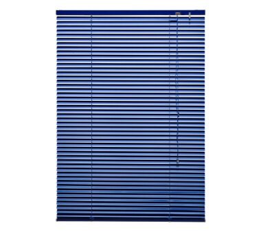 LIEDECO Jalousie aus Aluminium 080 x 160 cm orientblau
