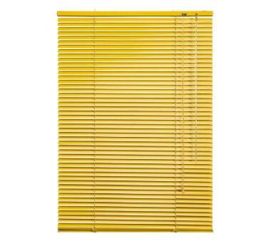 LIEDECO Jalousie aus Aluminium 080 x 160 cm gelb