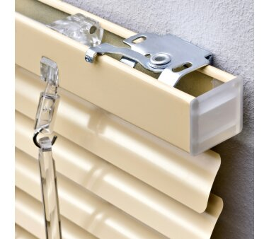 LIEDECO Jalousie aus Aluminium 080 x 220 cm beige