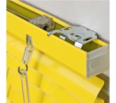 LIEDECO Jalousie aus Aluminium 080 x 220 cm gelb