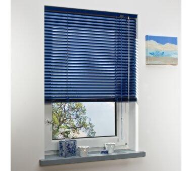 LIEDECO Jalousie aus Aluminium 090 x 130 cm orientblau