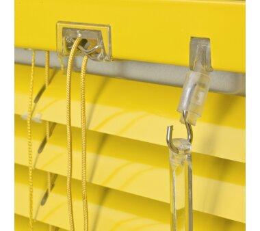 LIEDECO Jalousie aus Aluminium 090 x 130 cm gelb