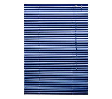 LIEDECO Jalousie aus Aluminium 090 x 160 cm orientblau
