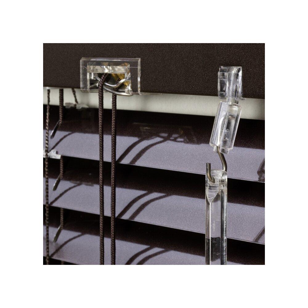 jalousie alu jalousie braun 90x160 cm liedeco. Black Bedroom Furniture Sets. Home Design Ideas