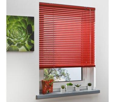 LIEDECO Jalousie aus Aluminium 090 x 220 cm rot