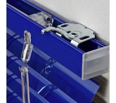 LIEDECO Jalousie aus Aluminium 090 x 220 cm orientblau