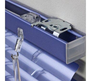 LIEDECO Jalousie aus Aluminium 100 x 130 cm hellblau