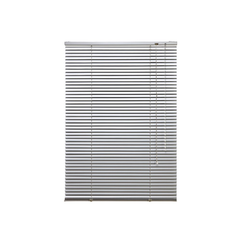 jalousie alu jalousie silber 100x160 cm liedeco. Black Bedroom Furniture Sets. Home Design Ideas