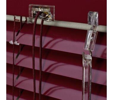 LIEDECO Jalousie aus Aluminium 100 x 160 cm bordeaux