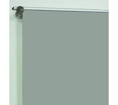 Schiebevorhang Deko blickdicht ROM Fb. grau Größe BxH 60x245 cm