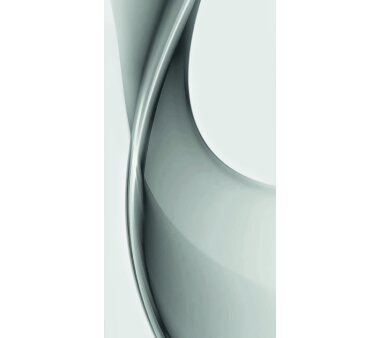 Schiebevorhang Deko blickdicht BRISTOL Fb. grau Größe BxH 60x245 cm