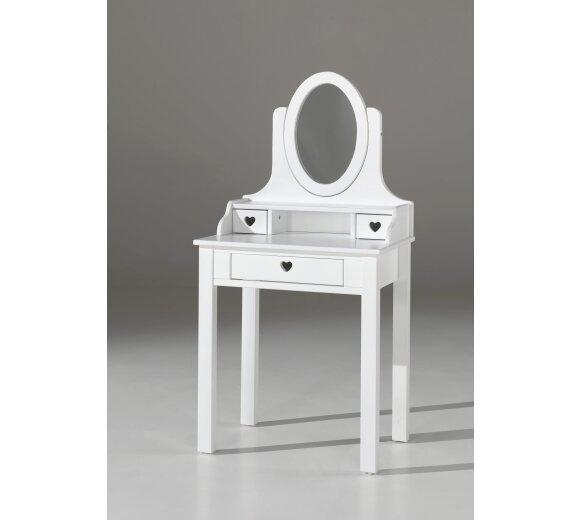 Vipack schminktisch amori mit spiegel wei preiswert - Spiegel preiswert ...