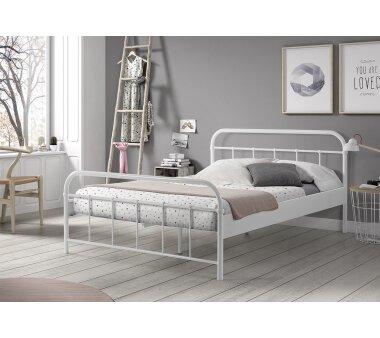 79e1a9980e Metallbett Alice weiß, 90x200 cm - von Vipack kaufen