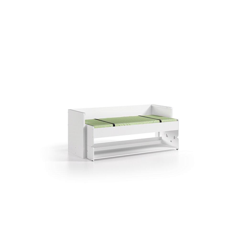 funktionsbett denver wei 90x200 cm von vipack kaufen. Black Bedroom Furniture Sets. Home Design Ideas