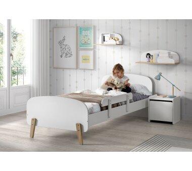 Vipack Absturzschutz für Einzelbett Kiddy, weiß