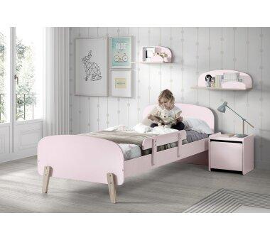 Vipack Absturzschutz für Einzelbett Kiddy, rosa
