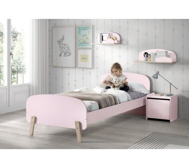 Vipack Wandregal Kiddy, Breite 45 cm, rosa