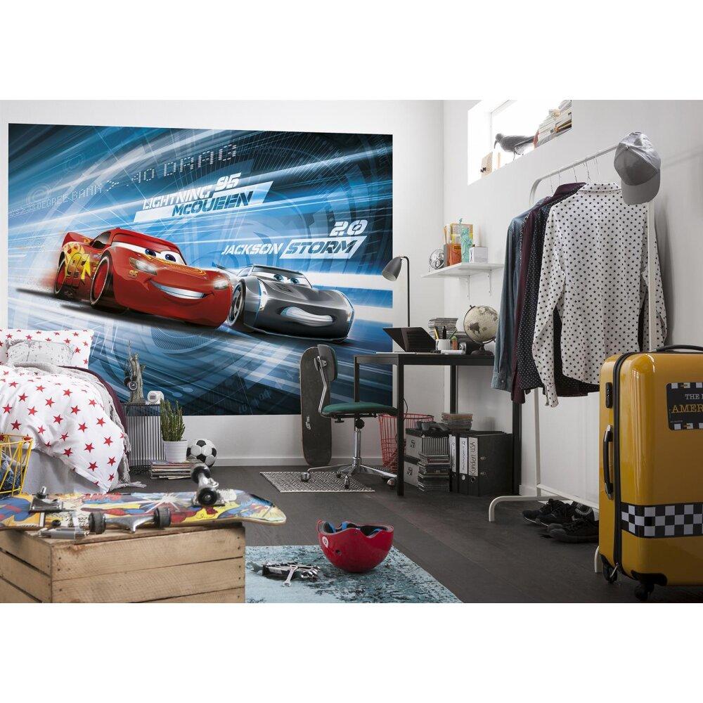 fototapete cars3 simulation von komar kaufen. Black Bedroom Furniture Sets. Home Design Ideas