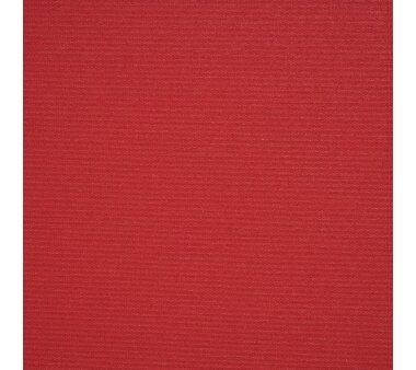 LIEDECO Volantrollo eckig, Uni-Verdunklung, rot