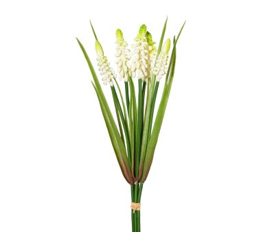 Kunstpflanze Muscari-Bund, 5er Set, Farbe creme,...