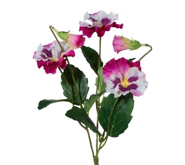Kunstpflanze Stiefmütterchen, 3er Set, Farbe pink,...