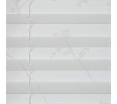 LIEDECO Klemmfix-Plissee Ranke, verspannt,  Fb. weiß
