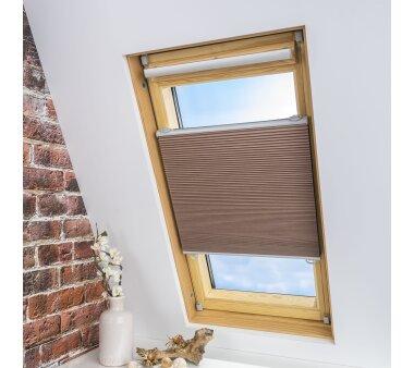 LIEDECO Universal-Dachfenster-Wabenplissee, Verdunklung,...