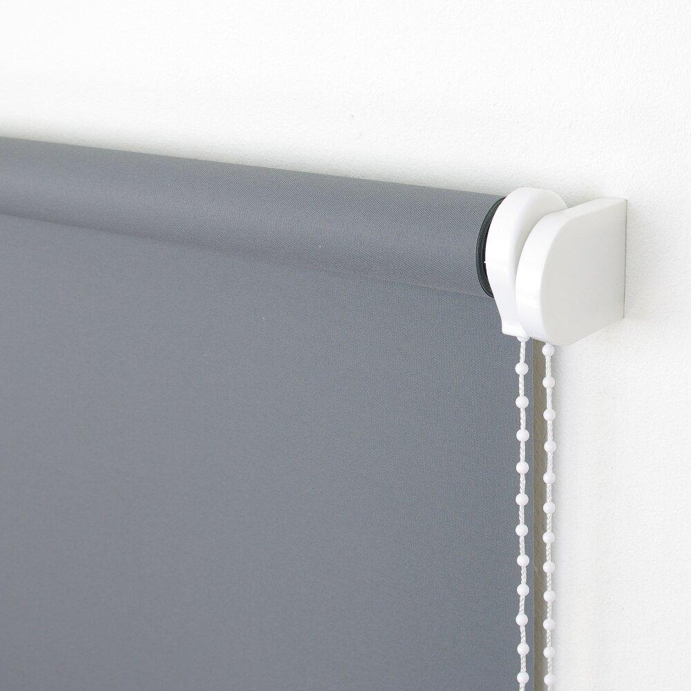 ma rollo seitenzug dunkelgrau lichtdurchl wohnfuehlidee. Black Bedroom Furniture Sets. Home Design Ideas