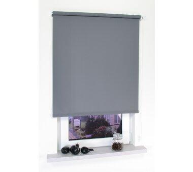 ma rollo seitenzug hellgrau lichtdurchl wohnfuehlidee. Black Bedroom Furniture Sets. Home Design Ideas