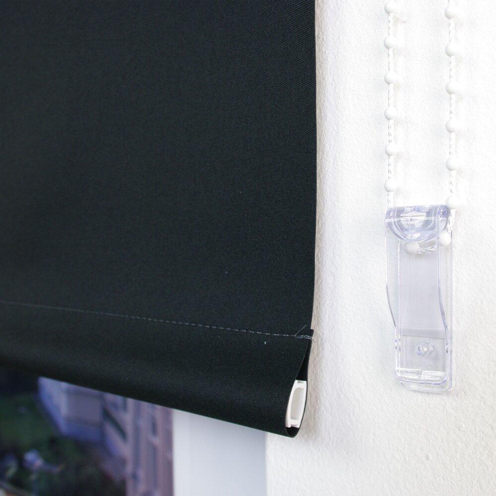 ma rollo seitenzug verdunklung schwarz wohnfuehlidee. Black Bedroom Furniture Sets. Home Design Ideas