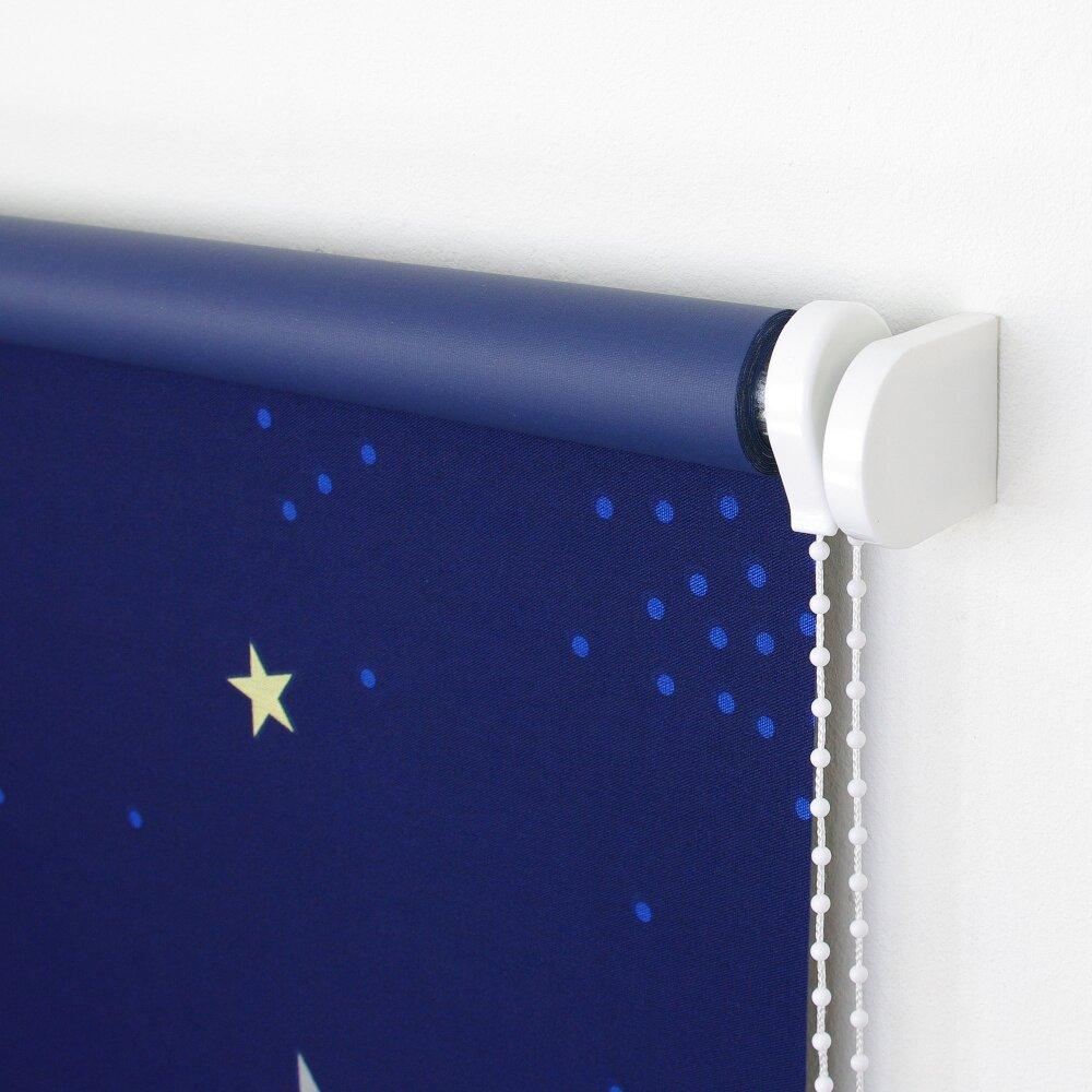 ma rollo dekor sternenhimmel seitenzug verdunkelung. Black Bedroom Furniture Sets. Home Design Ideas