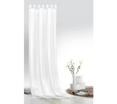 Voile-Schlaufenschal Leara transparent, Farbe weiß,...