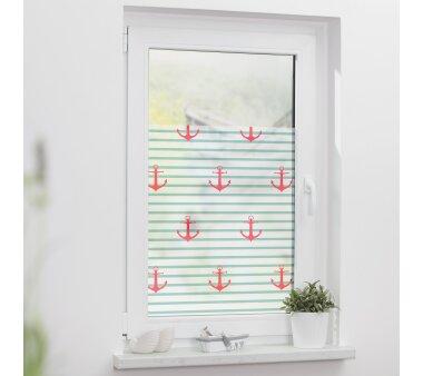 Lichtblick Fensterfolie selbstklebend, Sichtschutz, Anker...