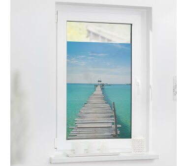 Lichtblick Fensterfolie selbstklebend, Sichtschutz, El...