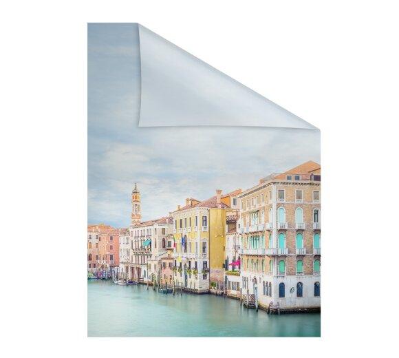 Fensterfolie Fische 45 x 200 cm Buntglas bunte Glasdekorfolie selbstklebend