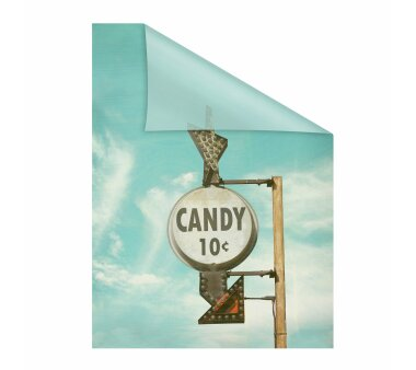 Lichtblick Fensterfolie selbstklebend, Sichtschutz, Candy...