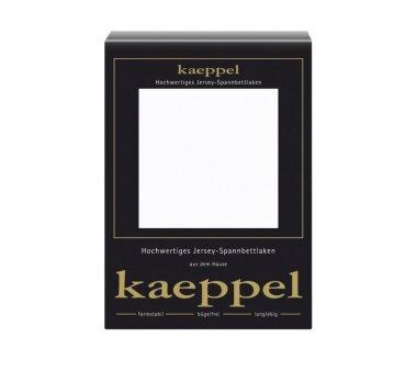 Kaeppel Jersey Spannbettlaken Fb. weiss Gr. 140-160 x 200 cm