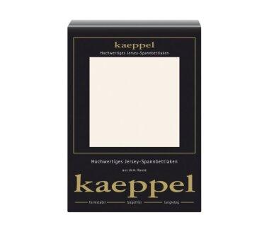 Kaeppel Jersey Spannbettlaken Fb. perlmutt Gr. 180 x 200 cm