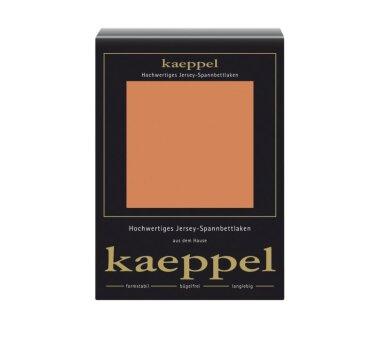 Kaeppel Jersey Spannbettlaken Fb. mandarine Gr. 100 x 200 cm