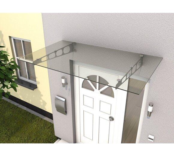 Schnelle Lieferung Glasvordach Sicherheitsglas Vordächer Haustürvordach i-serie Rabatte Verkauf