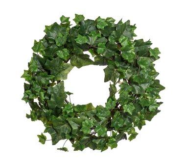 Künstlicher Engl. Efeu-Kranz,  Farbe grün,...