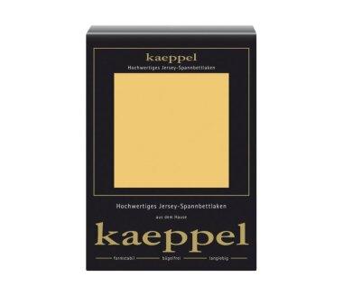 Kaeppel Jersey Spannbettlaken Fb. mais Gr. 140-160 x 200 cm