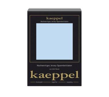 Kaeppel Jersey Spannbettlaken Fb. hellblau Gr. 140-160 x...