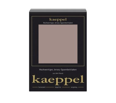 Kaeppel Jersey Spannbettlaken Fb. macchiato Gr. 100 x 200 cm