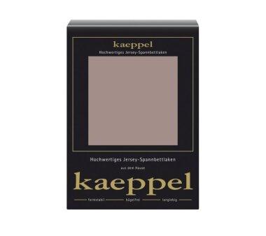 Kaeppel Jersey Spannbettlaken Fb. macchiato Gr. 140-160 x...