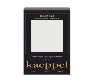 Kaeppel Jersey Spannbettlaken Fb. silber Gr. 100 x 200 cm