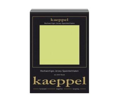 Kaeppel Jersey Spannbettlaken Fb. apfel Gr. 140-160 x 200 cm