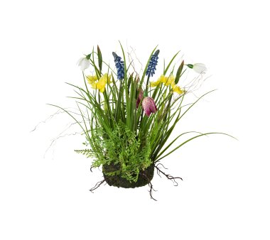 Kunstpflanze Frühlingsmix, Farbe bunt, mit...