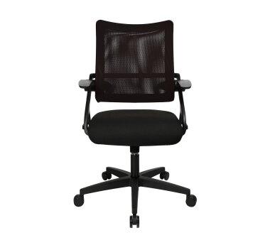 Topstar Büro-Drehstuhl mit Armlehne, 17 09, schwarz