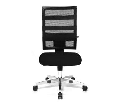 Topstar Design-Drehstuhl in Netzoptik, 17 10, schwarz